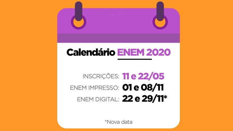 Datas do Enem